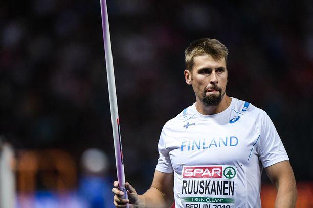 Antti Ruuskanen avaa kilpailukautensa sunnuntaina Raaseporissa.