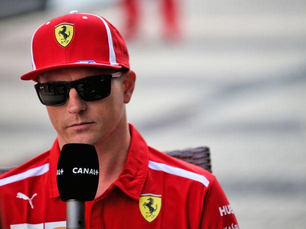 Kimi Räikkönen ei pystynyt taistelemaan Venäjän GP:ssä palkintosijoista.