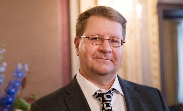 Jyrki Seppä maiskutteli Ilveksen osakeannin lopputulosta.