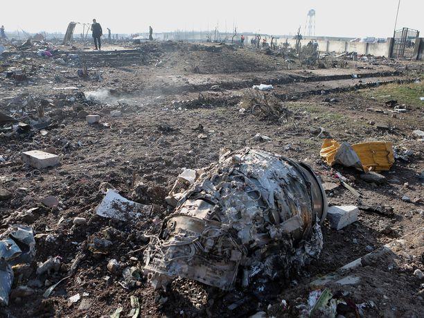 Ukrainalainen matkustajakone oli matkalla Teheranista Kiovaan, kun se ammuttiin alas.