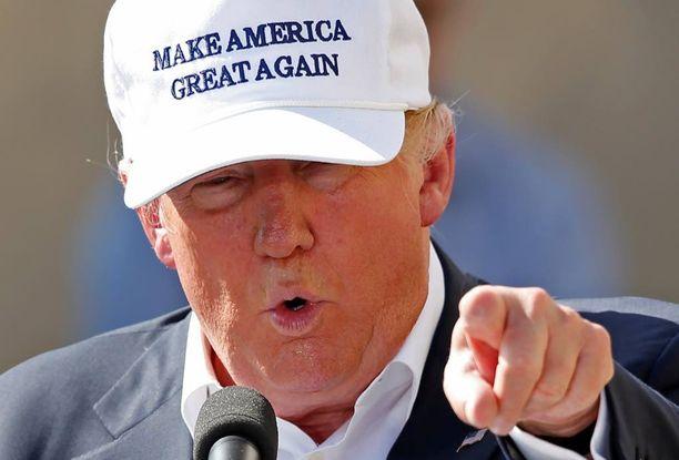 Muurin rakentaminen Meksikon rajalle on eräs Donald Trumpin vaaliteemoista.