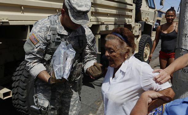Hurrikaani Marian pahoin tuhoamassa Yhdysvaltain Puerto Ricossa asukkaiden elinolosuhteet ovat kurjistumassa päivä päivältä.