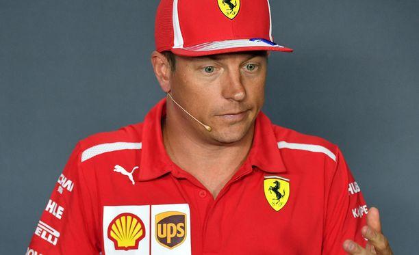 Kimi Räikkönen vaikuttaa ajavan viimeistä kauttaan Ferrarilla.