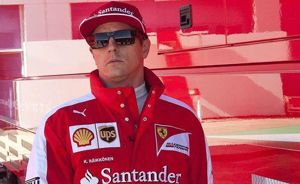 Kimi Räikkönen piti pokkansa.