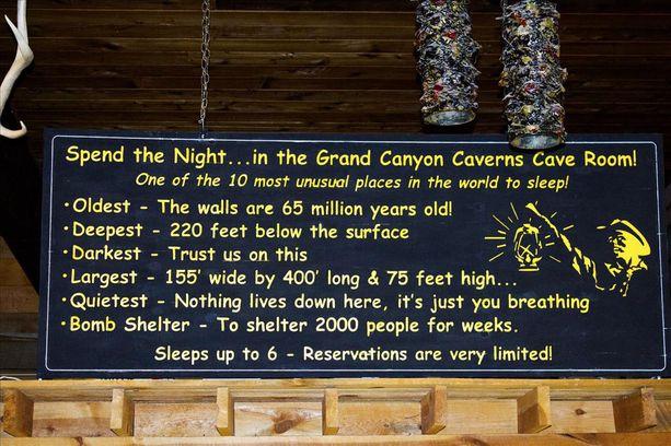 Näin vaikuttavalla ennätysluettelolla erikoista luolasviittiä mainostetaan.