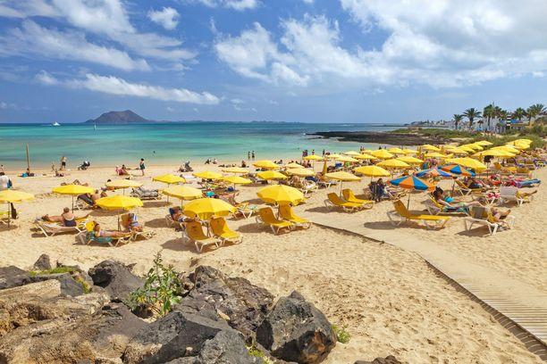 Fuerteventurakin voisi olla houkutteleva vaihtoehto.