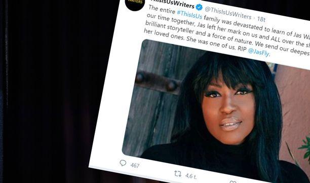 Jas Watersin kuolemasta kerrottiin Twitterissä.