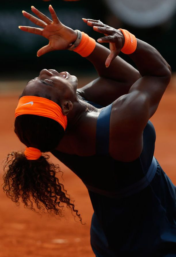 Mestari! Serena Williams tappoi Pariisin haamut.