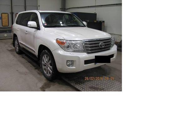 Itävallasta viime syksynä anastettua Toyota Land Cruiseria oltiin viemässä Venäjälle.