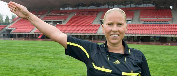 Kirsi Heikkinen on arvostetuin suomalainen naistuomari.