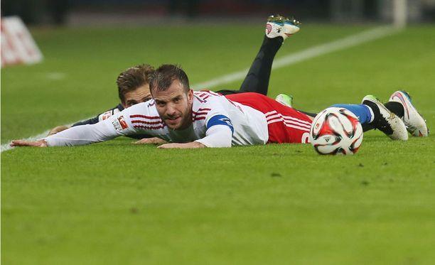 Rafael van der Vaartin peli ei vakuuttanut faneja viime perjantaina.
