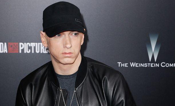 Eminem on riimitellyt tyttärestään useissa kappaleissaan.