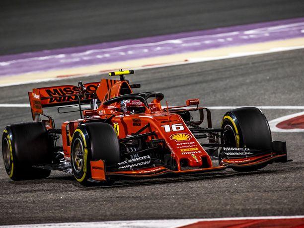 Charles Leclerc olisi voittanut Bahrainissa ilman teknistä vikaa.