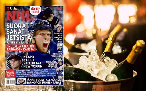 """Suomalaiset NHL-tähdet paljastavat: Tätä kaikkea tapahtuu ökyhintaisilla tulokasillallisilla – """"Jos et pidä turpaasi kiinni, kaadan nämä kaikki tähän palmuun"""""""