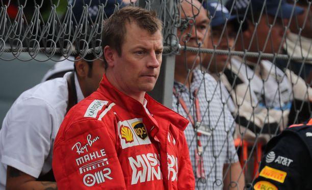 Kimi Räikkösellä on vielä kaksi osakilpailua jäljellä Ferrarin punaisissa haalareissa.