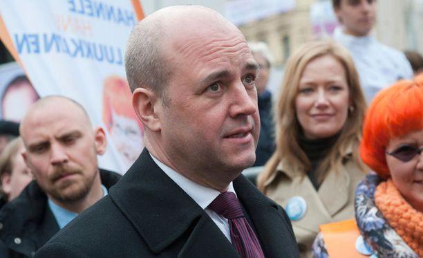 Reinfeldt pureutui perinteisessä joulupuheessaan ihmiskaupan aiheuttamiin ongelmiin.