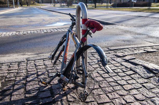 Poliisi kehottaa kaikki pyörien omistajia ottamaan kuvan polkupyörästä mahdollisen varkauden selvittämiseksi (arkistokuva).