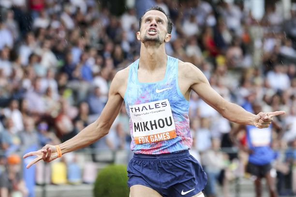 Sadik Mikhou juoksi oman ennätyksensä vuonna 2017.