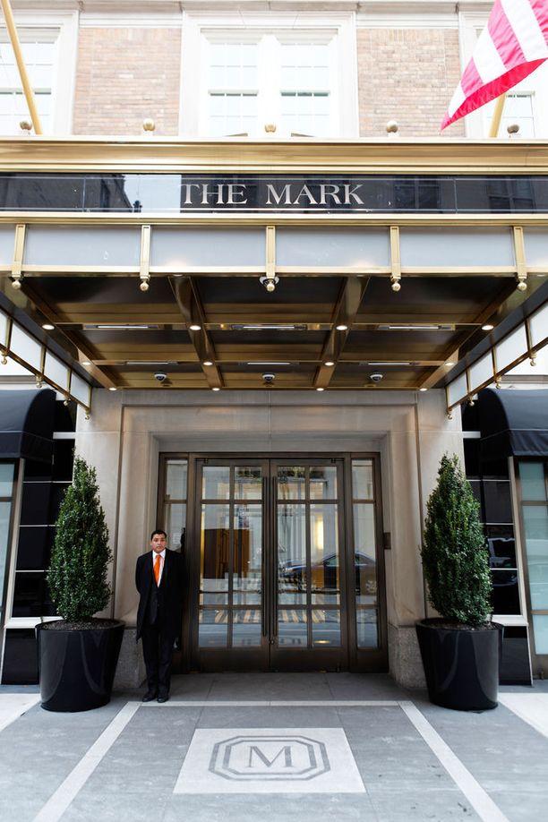 The Mark -hotellin lippulaivasviitissä voi järjestää vaikkapa tanssiaiset.