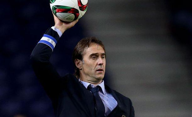 Julen Lopetegui ottaa Espanjan huippujoukkueen komentoonsa.
