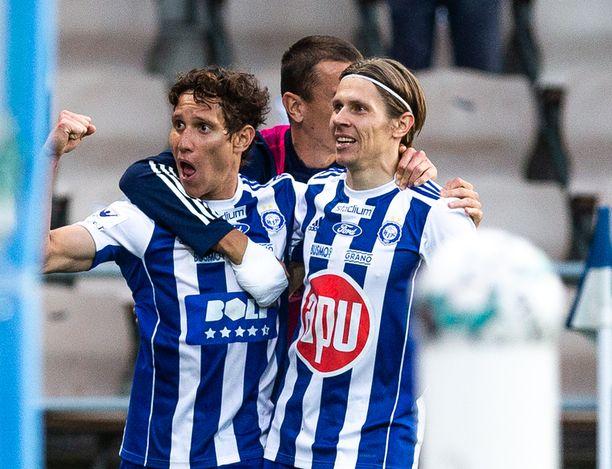 Juhlivatko David Browne ja Riku Riski IFK Mariehamnin kustannuksella?