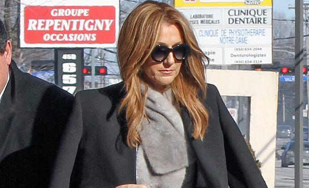 Céline Dion on toistaiseki perunut konserttinsa Las Vegasissa.