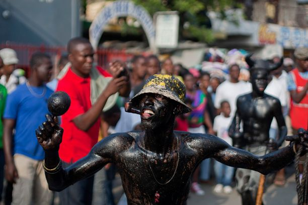 Port-au-Princen vuotuisat karnevaalit kestävät kolme päivää.