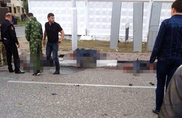 Pommi-iskussa kuoli lokakuussa viisi ihmistä Groznyn kaupungissa.