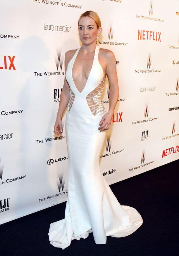Povekkaamman yllä Kate Hudsonin mekko olisi liiankin rohkea.