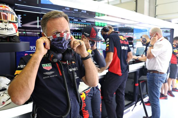 Christian Horner kertoi Red Bullin protestin taustat.