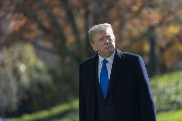 Trumpin on arveltu pyrkivän aluevaltauksiin televisiossa tai sosiaalisessa mediassa presidenttikautensa jälkeen.