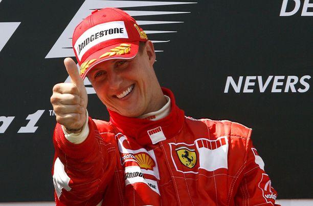Michael Schumacher oli vuosia F1-sarjan ylivoimainen palkkakuningas.