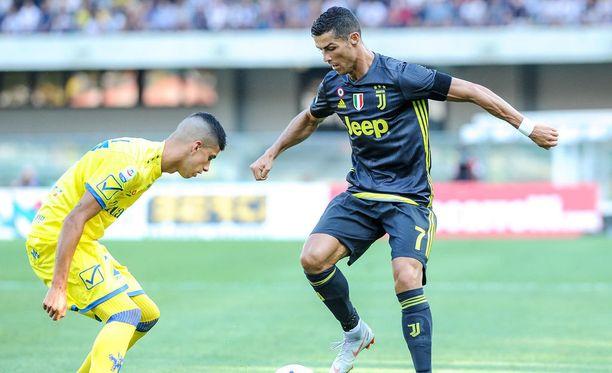 Ronaldo jäi maaleitta debyytissään.