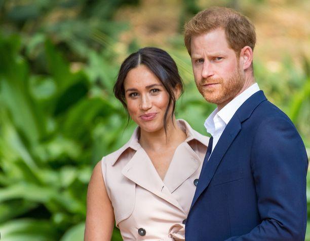 Meghan ja Harry jättivät brittihovin vuonna 2020.