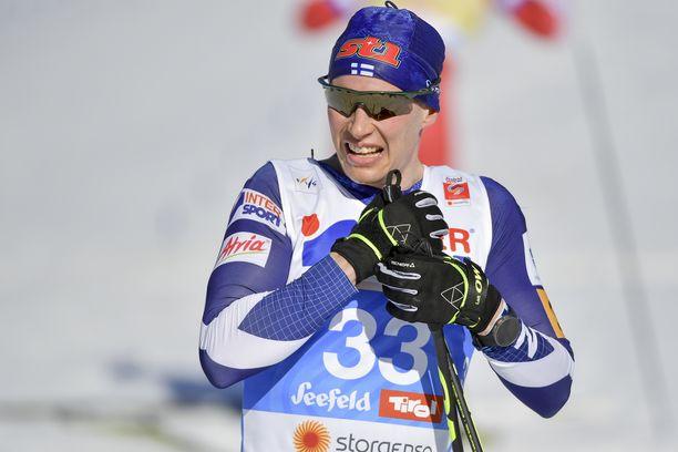 Matti Heikkinen ei saa uralleen kruunua Kanadasta viikonloppuna. Arkistokuva.