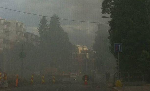 Pitseria Paradise tuhoutui sunnuntaina polttopulloiskussa.