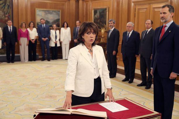 Dolores Delgado on aiemmissa töissään erikoistunut ihmisoikeuskysymyksiin.
