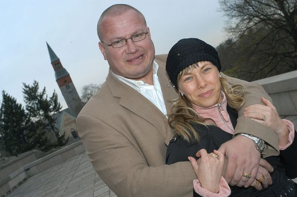 Vielä vuonna 2003 parin rakkaus kukoisti.