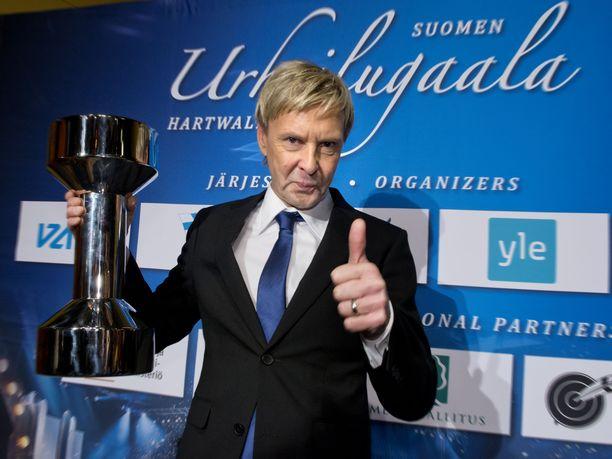 Matti Nykäsen viimeiseksi palkinnoksi jäi elämänura-palkinto, jonka hän sai vuonna 2013 Urheilugaalassa.