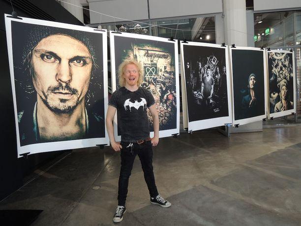 Rock-valokuvaaja Ville Juurikkala on kuvannut HIM-yhtyettä lukuisia kertoja uransa aikana.