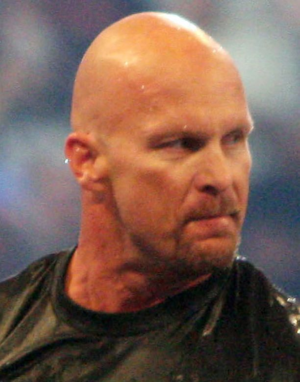 """Stone Cold"" Steve Austin on entinen showpainija."