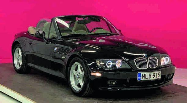 BMW Z3 on yksi suosituimpia käytettyjä avoautoja.