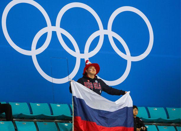 Venäjä suljettiin ulos kansainvälisistä arvokisoista.