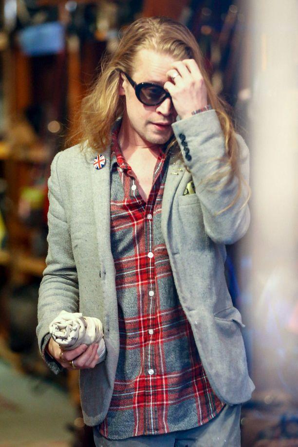 Macaulay Culkin maaliskuussa New Yorkissa.