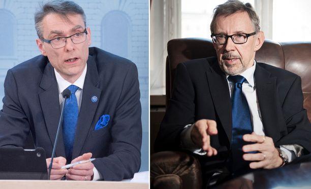 Oikeuskansleri Jaakko Jonkka jäi eläkkeelle toukokuun alussa. Uudeksi oikeuskansleriksi nimitettiin aliovaltiosihteeri Tuomas Pöysti, joka kuitenkin aloittaa virassa vasta ensi vuoden alussa.