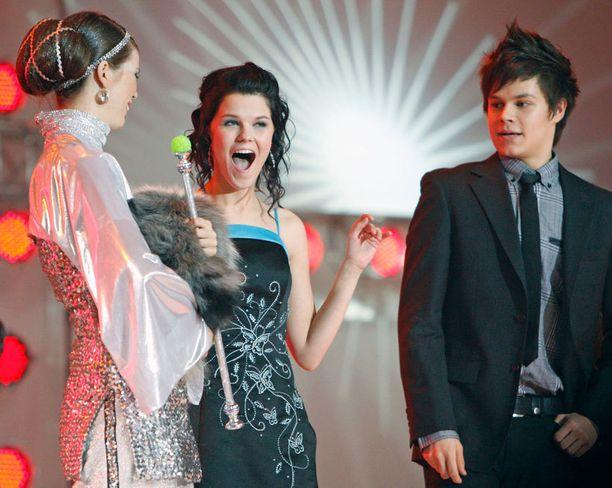Saara tuli toiseksi Talent-ohjelmassa vuonna 2007.
