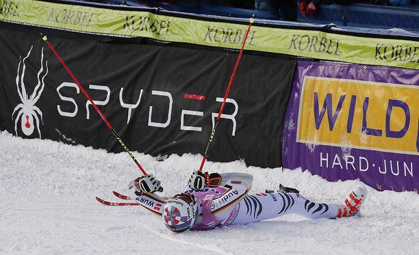 Stefan Luitz tuuletti maailmancupin suurpujottelukisan voittoa joulukuun alussa Coloradossa.
