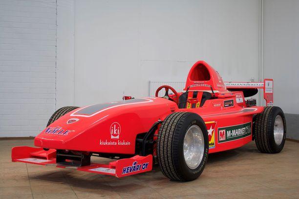 Jormula on autoluokaltaan Formula Vee, koska sen pohjana on käytetty Kuplavolkkaria.