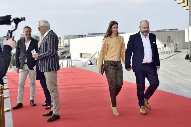 Bestsellerin toimitusjohtaja Anders Holch Povlsen ja hänen vaimonsa Anne Kööpenhaminassa viime vuoden toukokuussa.