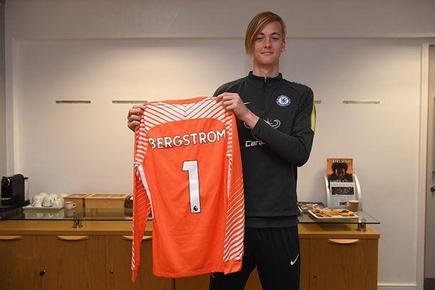 Lucas Bergström on nyt suurseura Chelsean maalivahtilupaus.